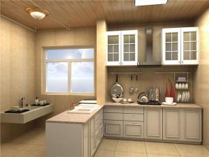 阳台改厨房效果图高清图片