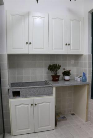洗衣机放阳台效果图造型
