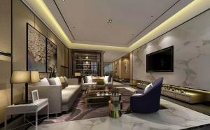 时尚中式电视背景墙设计