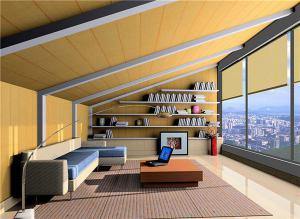 高层阳台书房装修效果图