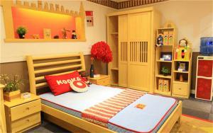儿童套房卧室家具搭配