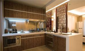厨房厨柜设计实拍图