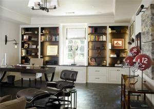 家用书桌家具案例