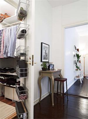 3平米走入小型衣帽间装饰