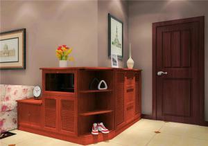 时尚红木鞋柜