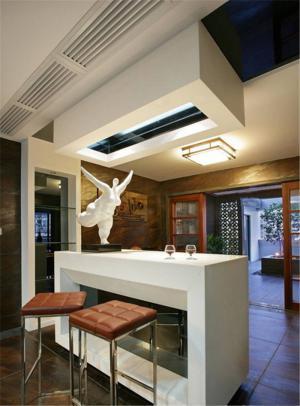 新古典客厅吧台