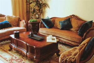 小户型大客厅沙发
