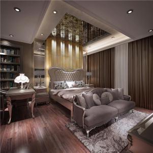 家装欧式卧室装修