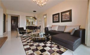 家装客厅沙发摆放效果图