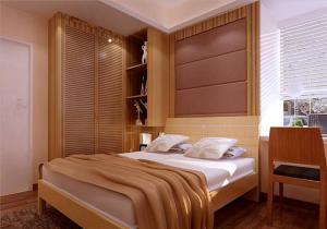 小户型卧室衣帽间一体化图
