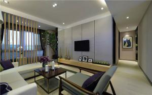 家庭装饰电视背景墙设计实拍