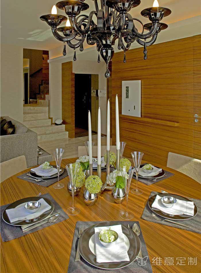 简易中式餐桌