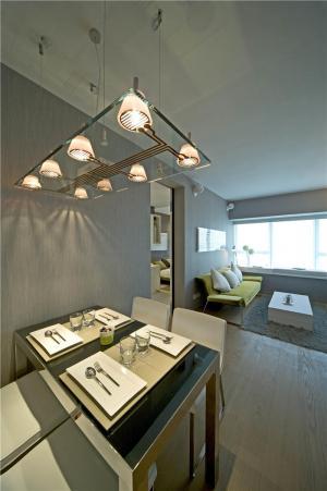 豪华小客厅餐桌