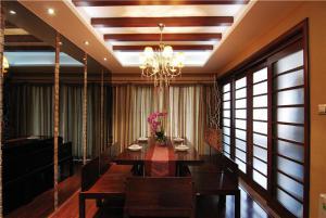 欧式小户型客厅餐桌