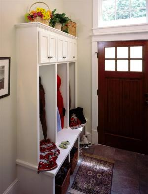 公寓卧室衣帽间一体化图片