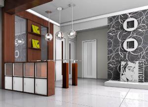 入户玄关效果图家具定制设计