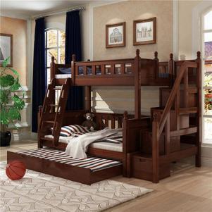 环保卧室上下床装修效果图