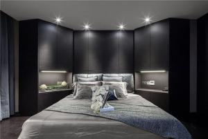 主卧室的床定制款式
