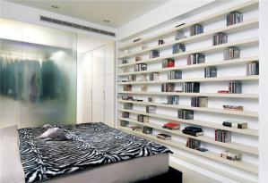 卧室书柜设计图片