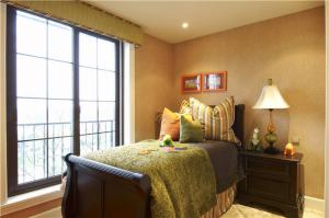 美式次卧室装修