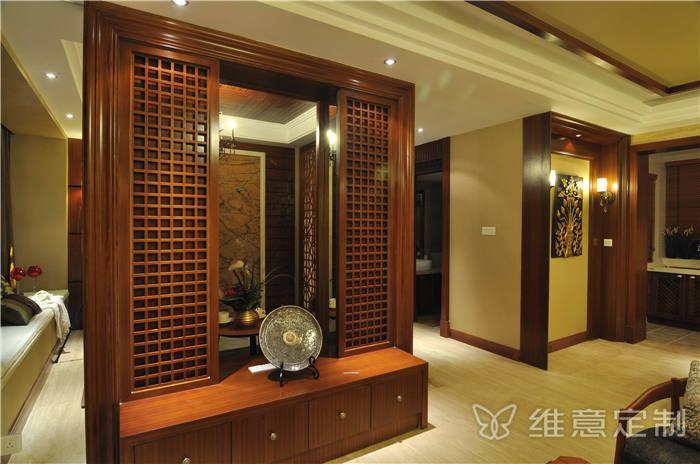 实木墙体装饰柜