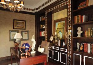书柜效果图大全2015款设计案例
