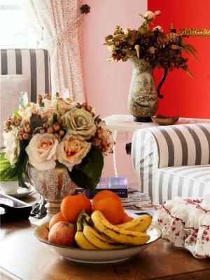温馨客厅沙发摆放效果图欣赏