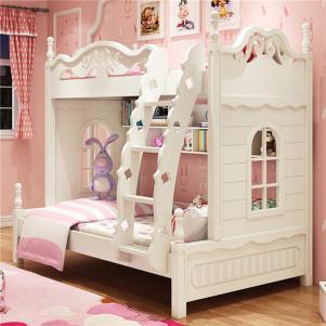 韩式组合儿童家具上下床实木家具