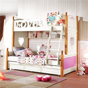 地中海两个孩子儿童房设计
