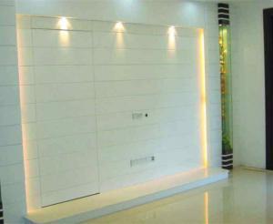 客厅隐形门装修效果图灯具装饰