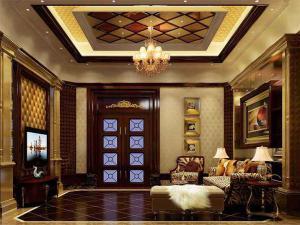 客厅简欧风格电视背景墙