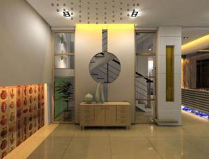 新中式玄关装饰物搭配