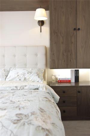 田园风格床床头柜定制