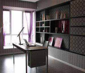 简易的书房装饰设计