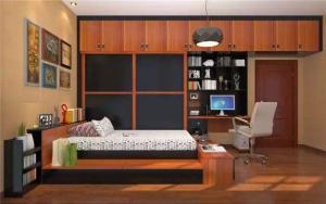 卧室书柜设计无水印