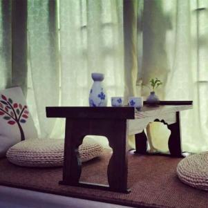 烧桐木榻榻米书桌