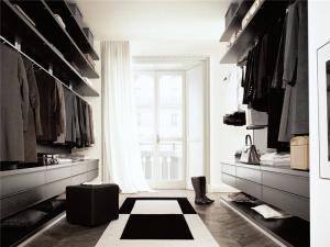 现代衣帽间整体衣柜