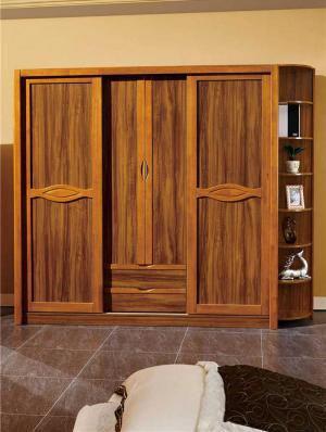 实木滑门衣柜
