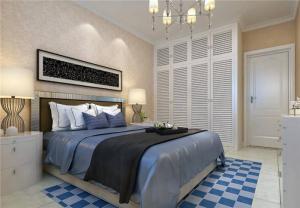 家装美式卧室衣柜