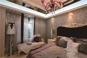 简易飘窗卧室设计图片
