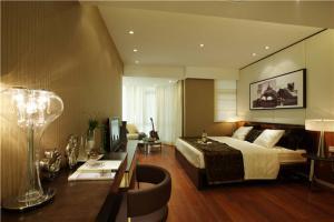 公寓带飘窗的卧室装修图片