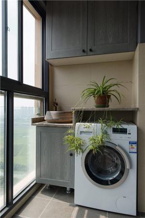 小户型旧房改造洗衣池阳台