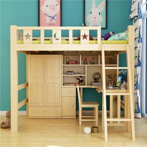 儿童房设计上下床家具定制