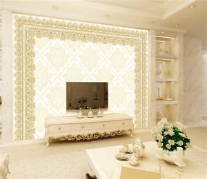 欧式电视背景墙欧式花纹