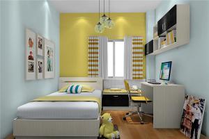 暖色小空间儿童房设计