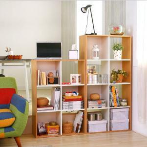 简易创意组合收纳书柜