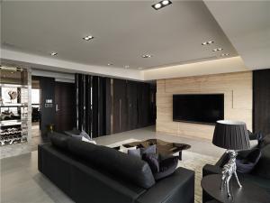 挂式小电视背景墙