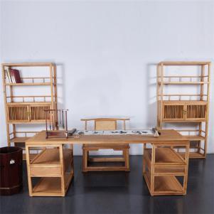 定制榆木中式书桌