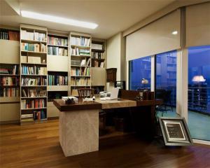 新款书柜收集墙