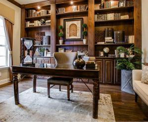 奢华中式书柜